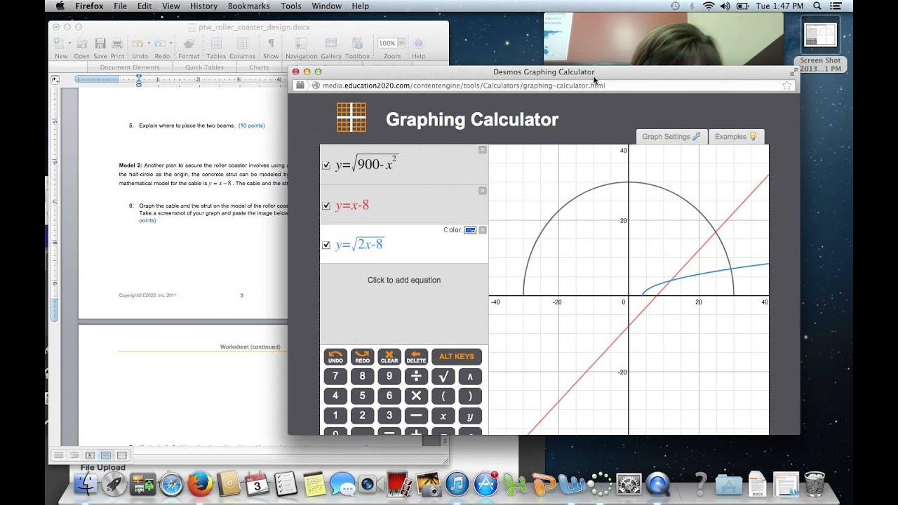 Roller Coaster Project Algebra 2 Youtube