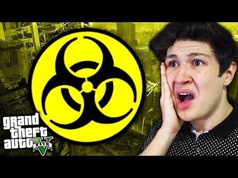 ¿Qué PASA Si Hay Un VIRUS En GTA 5? Grand Theft Auto V - GTA V Mods