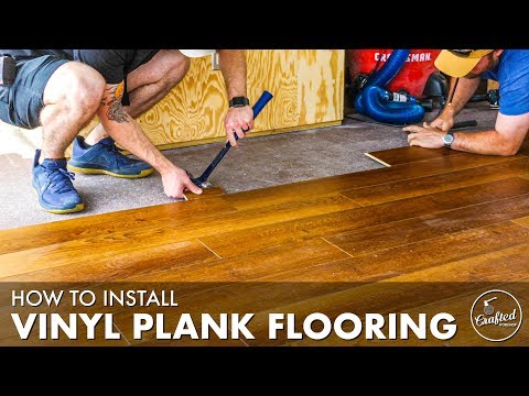 how-to-install-vinyl-plank-flooring-tutorial-for-beginners-//-home-reno