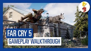 Far Cry 5 - Fall's End Liberation [E3 Gameplay Walkthrough]