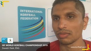 Interview: Davesh Patel, ENG #WKC2019
