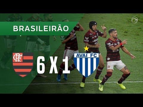 Flamengo RJ Avai Florianopolis Goals And Highlights