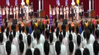 唱屏中校歌 屏東中學第65屆畢業典禮(3D攝影)
