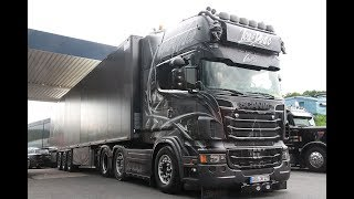 Jens Bode Transporte Scania R Topline V8 Showtruck - Lkw-Thorsten TV