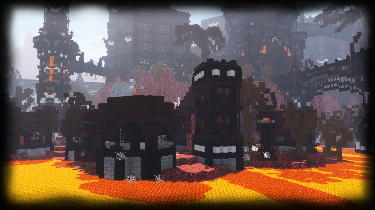 Minecraft  How to build an EPIC Nether Castle