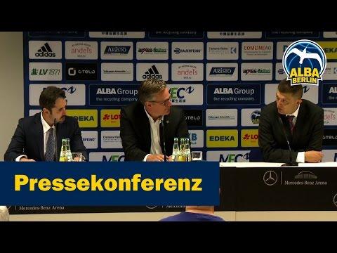 Pressekonferenz: Krunic &