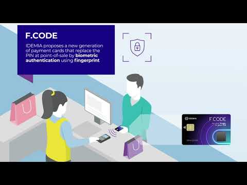 F.CODE - Taking the payment card into the biometric world