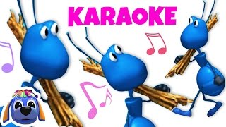 Ants Go Marching | Nursery Rhymes Karaoke | Sing-Along Songs for Children by Raggs TV