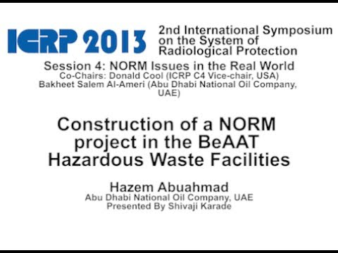 Construction of a NORM project in the BeAAT Hazardous Waste Facilities