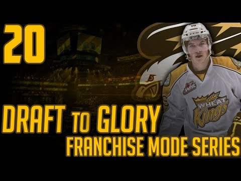 """NHL 17 - Draft To Glory Franchise Mode #20 """"So Much Potential"""""""