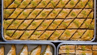How to Make Classic Syrian Baklava | Sunset