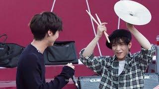 N.FLYING(엔플라잉) Kim Jae Hyun(김재현) Drums Performance 'The Real(진짜가 나타났다)' Fancam [181007 강남역 버스킹 직캠]