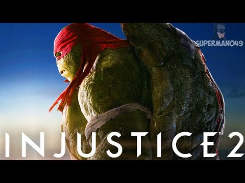 "RAPHAEL STRUGGLES TO WIN! - Injustice 2 ""Raphael"" Gameplay"
