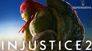 """RAPHAEL STRUGGLES TO WIN! - Injustice 2 """"Raphael"""" Gameplay Leave a ..."""