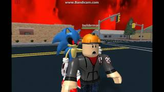 (Abandoned Series) Sonic.EXE Takes Over ROBLOX Part 1:Summoning Sonic.EXE