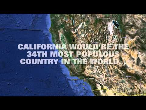 What If California Was An Independent Country?