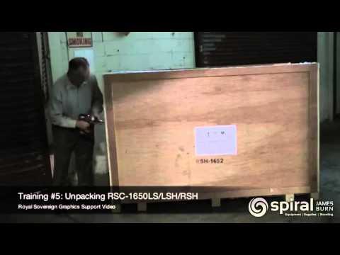 royal-sovereign:-laminator-unpacking-and-setup