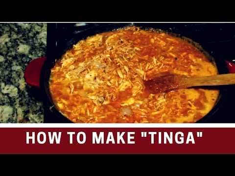 How to make TINGA |Authentic Mexican food | Recipe