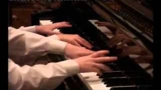 Марш из оперы Аида на рояле в 4 руки