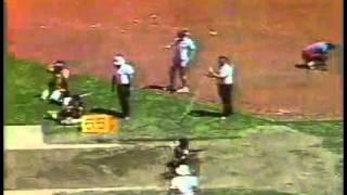 Тройной прыжок мужчины 17,91 м  Чарли Симпкинс