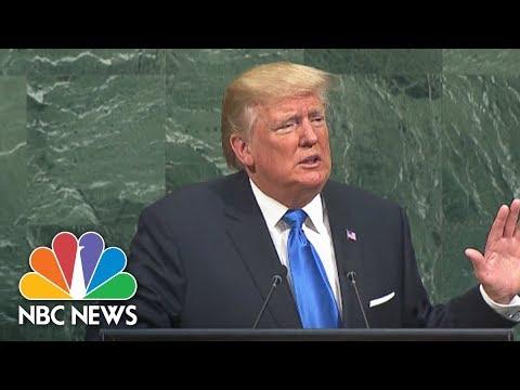 Download Youtube: At U.N., President Donald Trump Blasts 'Rogue Regimes' Of North Korea, Iran And Syria | NBC News