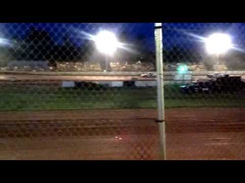 Feature win by Todd brass on 7-6-13 at TNT Speedway racing street stock 2T