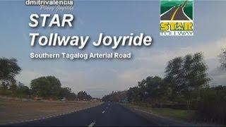 Pinoy Joyride - STAR Tollway Sunset Joyride (Southbound) 2014