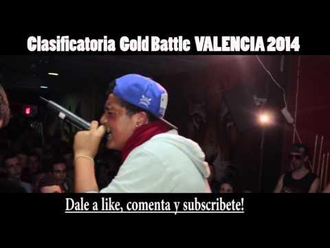 Mr. Ego VS Black Dog 16avos GOLD BATTLE VALENCI
