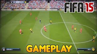 FIFA 15 - Gameplay Gamescom (HD) - Melhoria ? (PS4/One/PC)