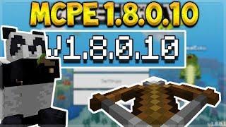 MCPE 1.8.0.10 BETA CROSSBOW! - Minecraft Crossbow Weapon & Pandas (MCPE, Xbox, PC, Switch)