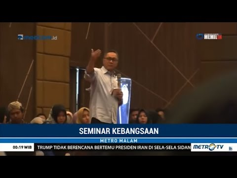 Kampanyekan Sandiaga, Zulkifli Hasan Disoraki Mahasiswa Mp3