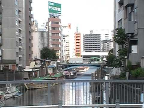 Tokyo   Bridges And Boats