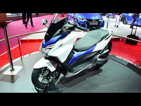 honda new forza 125 unveiled youtube. Black Bedroom Furniture Sets. Home Design Ideas