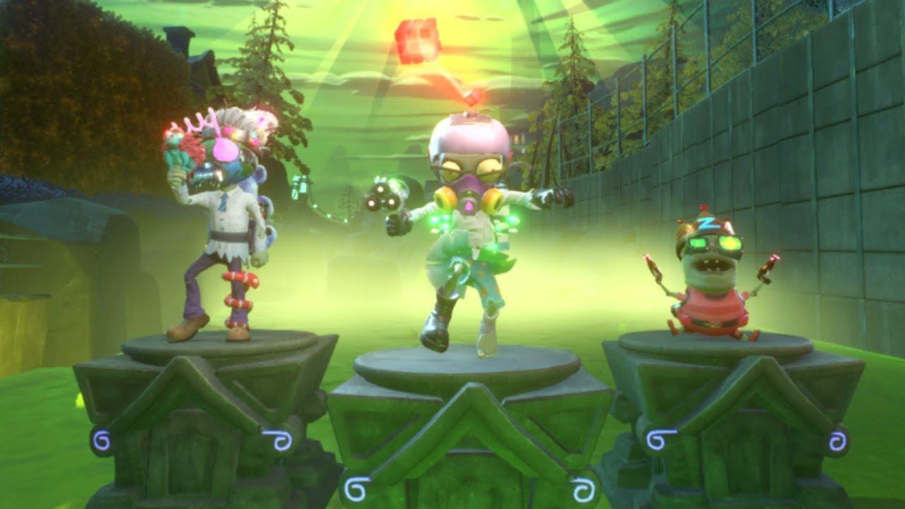 NEW Legendary Characters Plants vs Zombies Battle Royale ...