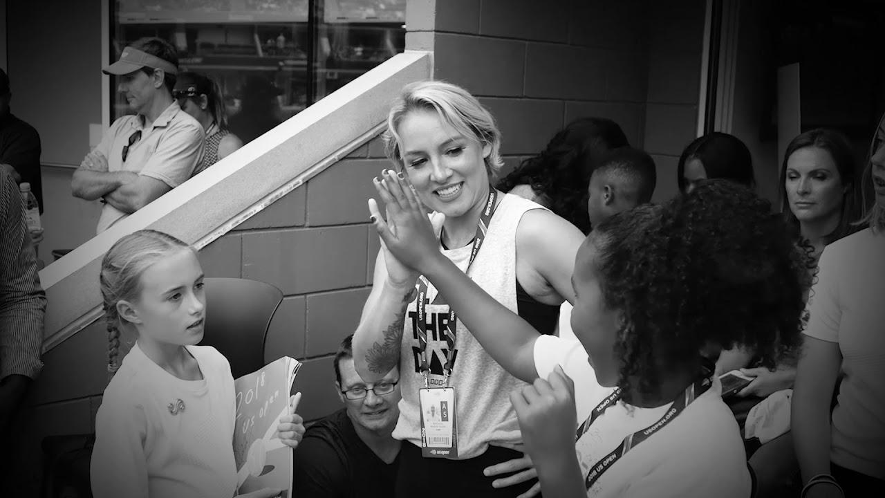 Sloane Stephens & Caroline Wozniacki: She Is. We Are. USTA Embrace All