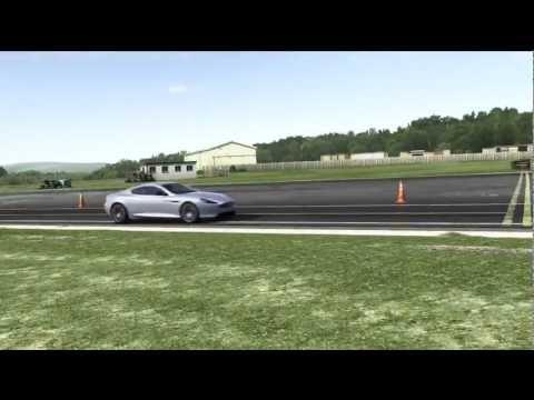 2013 Aston Martin DB9 Top Gear Track