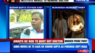 Dr alleges pressure to term Sunanda Pushkar