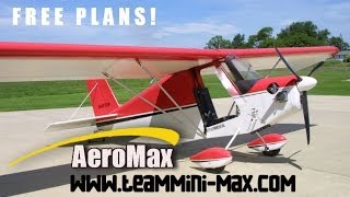 Free Team Mini-max Ultralight Aircraft And Experimental Amateurbuilt Aircraft Plans.