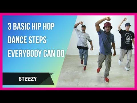 3 Basic Hip Hop Dance Steps Everybody Can Do