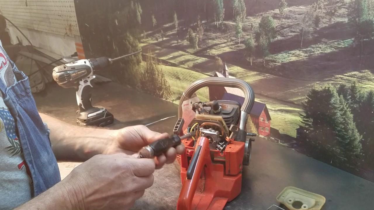 the chainsaw guy husqvarna 36 41 carburetor repair