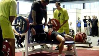 Jeffrey Podszuweit -Wuap-Powerlifting-WM 2010, Bankdrücken weltrekord 226kg@73,8kg