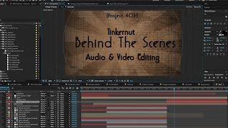 Tinkernut: Behind The Scenes - Audio & Video Editing