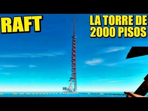 RAFT COOP - LA TORRE CELESTIAL, DUPLICAR MATERIALES | Gameplay Español
