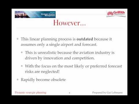 Airport dynamic strategic planning - Topic 2 7504BPS - Dr Gui Lohmann