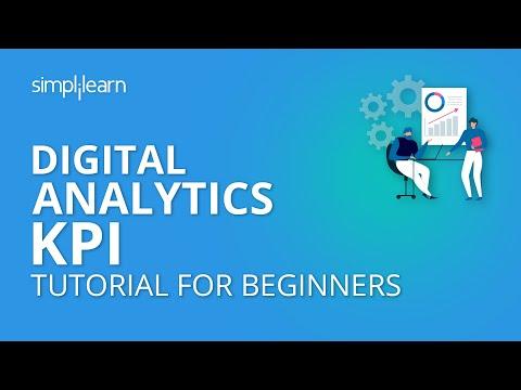 Digital Analytics KPI | Digital Marketing Tutorial For Beginners | Simplilearn