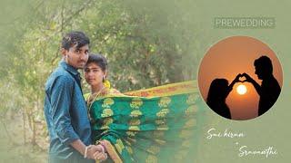Prewedding video of Saikiran & Sravanthi || radha ramanam Telugu song || canon 200dmii - latest telugu songs for pre wedding shoot