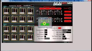 Akai MPK Mini and FL Studio Setup Pads and Knobs.avi