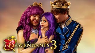 Descendants 3: Mal and Ben have a daughter! And she has magic too! 💜❤️ Edit!
