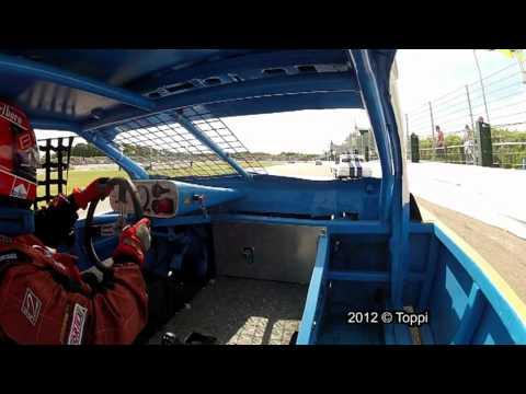 Posterholt Raceway 04-08-2012 Onboard Saloon Stockcar #77 1st Heat (8'24)