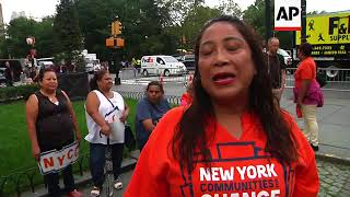 Protesters Rally Against DACA Decision in NYC